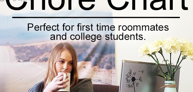 Roommate Chore Chart