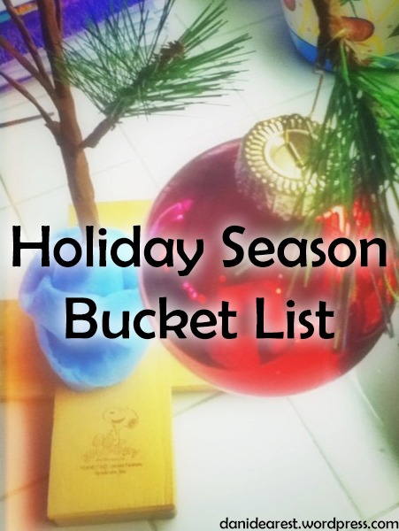 Holiday Season Bucket List