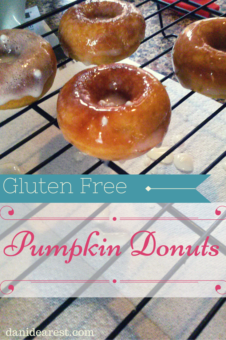 Delicious homemade #GlutenFree pumpkin donuts! #DIY #recipe #yum! Provided by: https://danidearest.com/