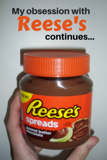 Have you tried the new Reese's Spreads? Check out this review!  #reeses #candy #nutella https://danidearest.com/