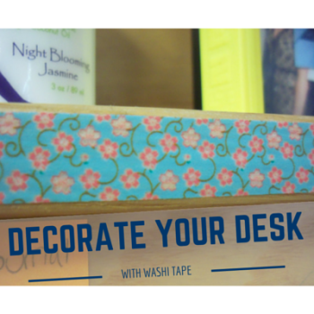 4 creative ways to decorate using washi tape! #college #decorate #DIY #organize http://DaniDearest.com
