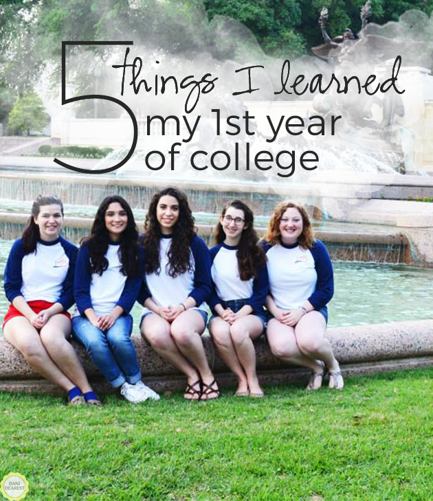 The 5 most important things that I learned my Freshman year of college! #tips #university