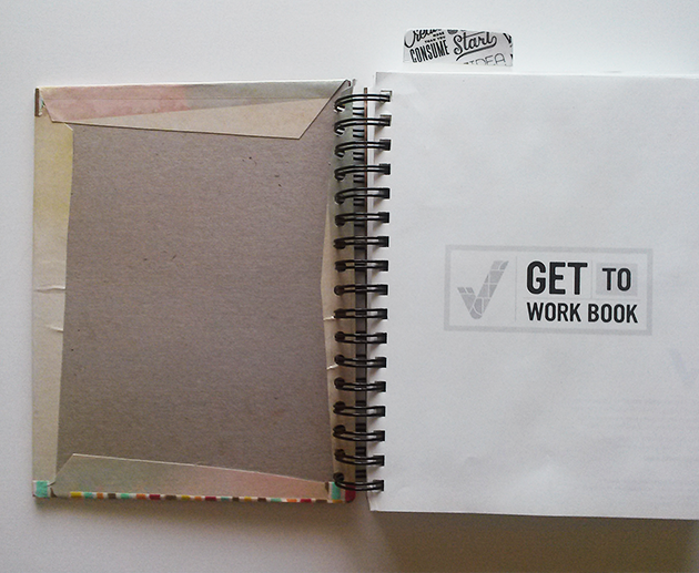 Make Your Own Cover: Perfect for notebooks, journals, planners and more! #DIY #Craft #Plan #Organize make your own notebook cover