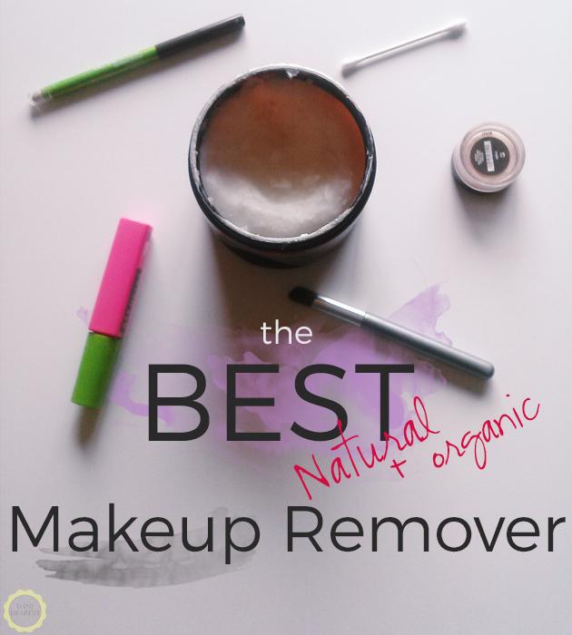 BEAUTY HACK: The best natural + organic Makeup Remover! (Spoiler alert: It's coconut oil!)