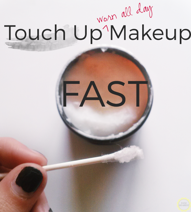 #BeautyHack: Touch up makeup that has smeared or fallen, FAST! #coconutoil