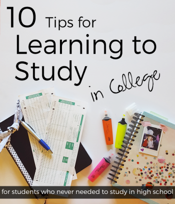 Learning How to Study in College