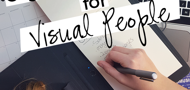 #1 Organizational Tool for Visual People