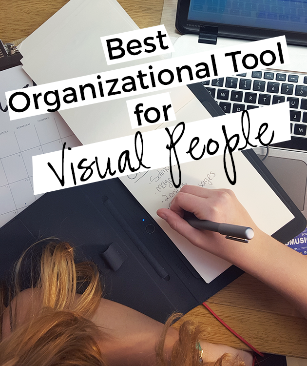 This is definitely the BEST organizational tool for people who are visual learners!