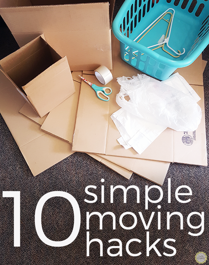 10 simple moving hacks - great for college students!