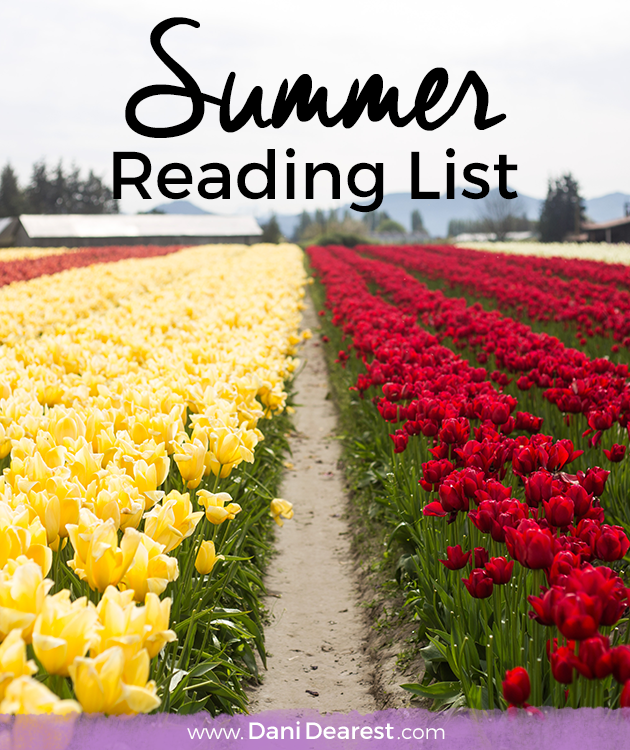 Summer is the best time to catch up on one of my favorite hobbies.. reading. Check out my summer reading list!