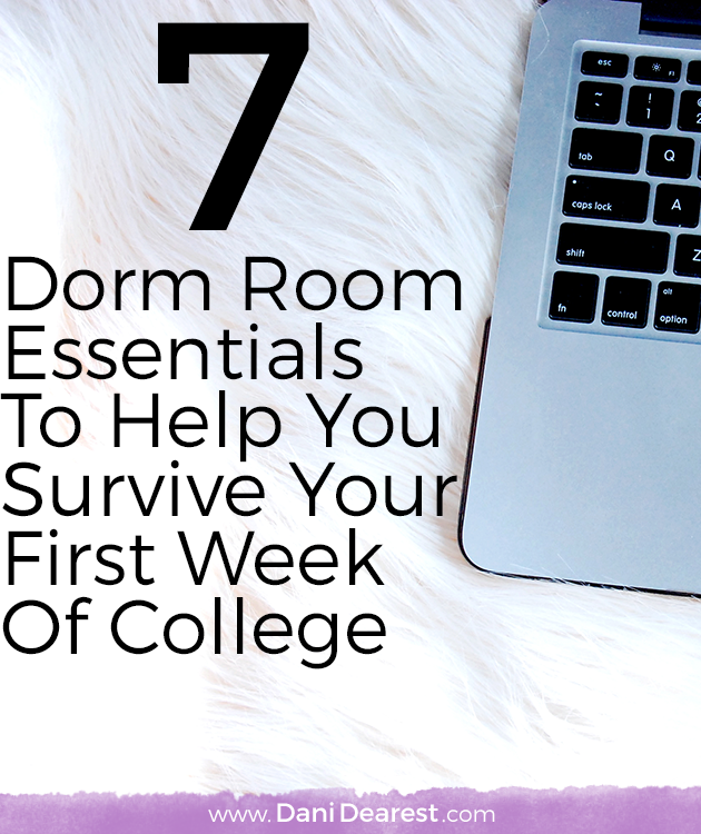 7 Dorm Room Essentials To Help You Survive Your First Week Of College