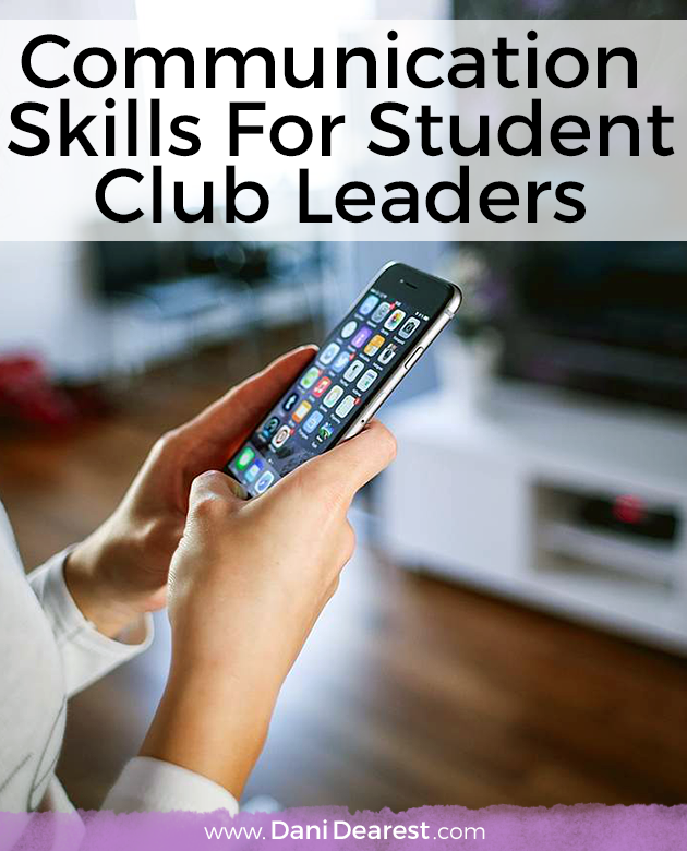 Are you a student leader looking to foster better communication skills? Check this out!