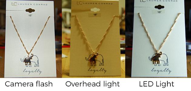 Light Comparsion