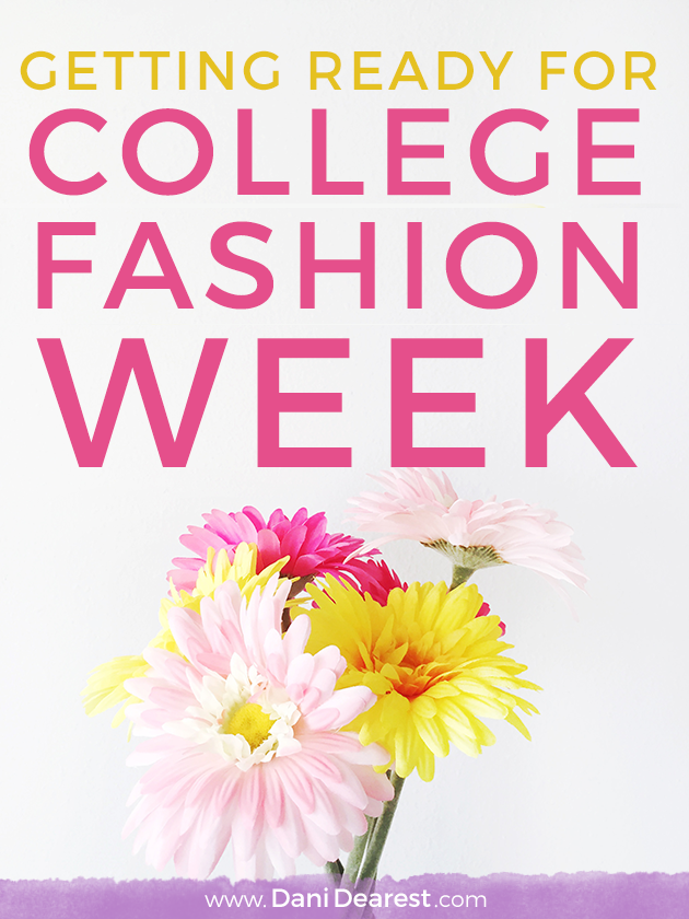 Guess who has a press pass and is modelling for College Fashion Week? Check it out! #HerCampus