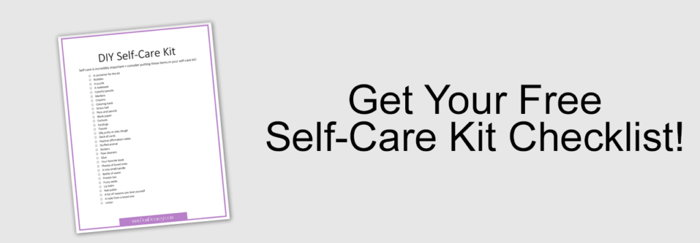 self-care kit checklist