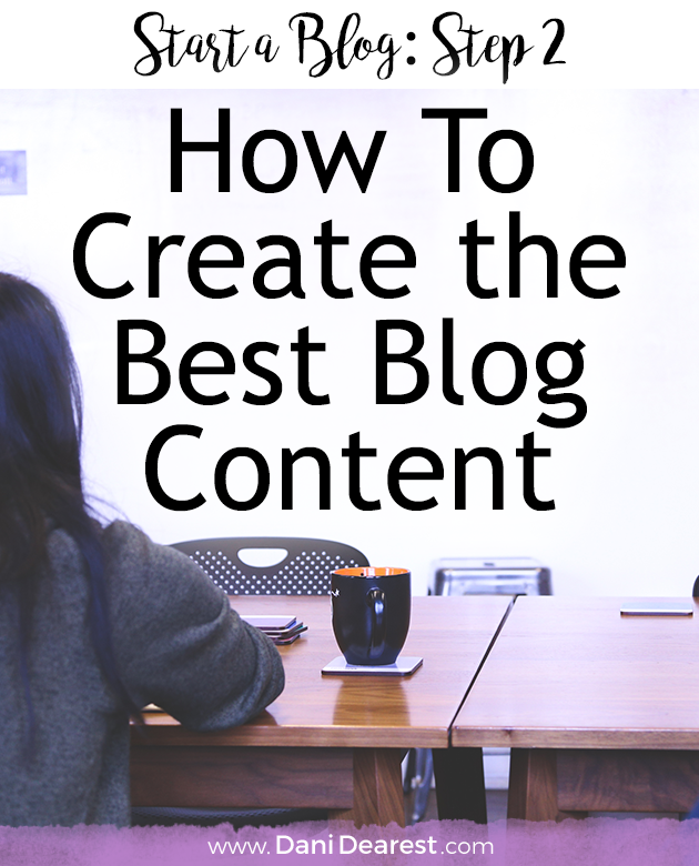 To start a successful blog you need some kick ass content! This guide will walk you through how to create the best blog content through blog content creation.