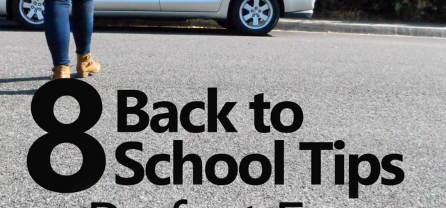 8 Back to School Tips for Upperclassmen + Giveaway!