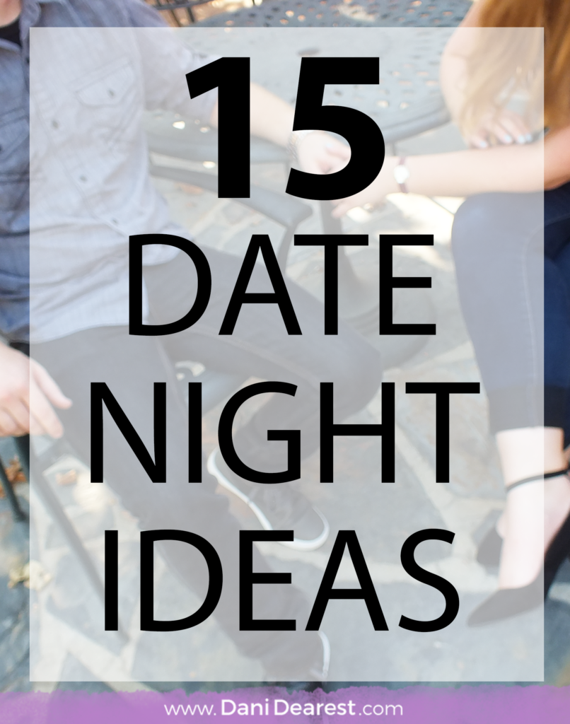 15 casual date night ideas for every season! #Ad