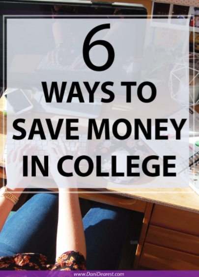 How to save money in college! #ad