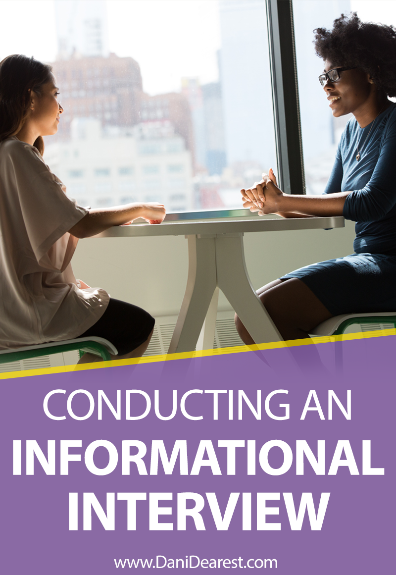 How do you conduct a successful informational interview? This complete guide leads you through the process to make sure your informational interviews are top notch. #careeradvice