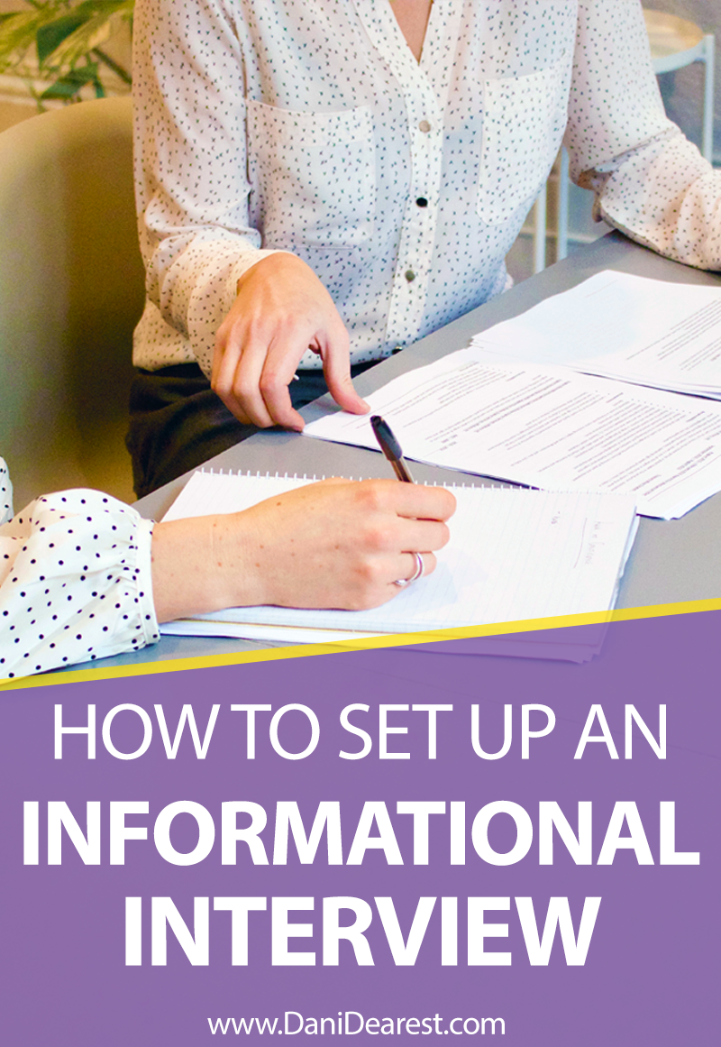 Benefits of informational interviews & how to set them up. Perfect for recent graduates, young professionals, and those looking to break into a competitive industry. Your complete guide to informational interviews!
